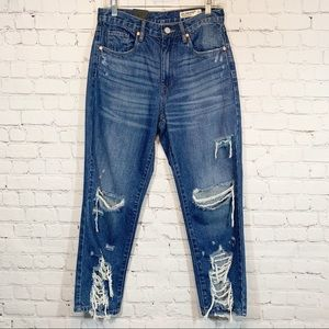 BlankNYC The Madison Crop Hi Rise Jeans